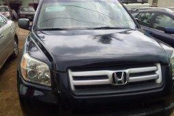 Foreign Used Honda Pilot 2007 Model Black