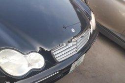 Nigeria Used Mercedes-Benz C280 2006 Model Black
