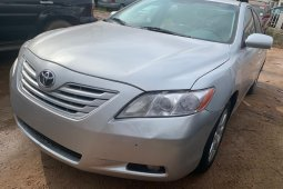 Foreign Used Toyota Camry 2007 Model Silver