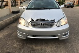Foreign Used Toyota Corolla 2006 Model Silver