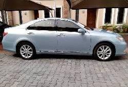 Foreign Used Lexus ES 2007 Model Blue
