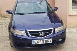 Foreign Used Honda Accord 2006 Model Blue