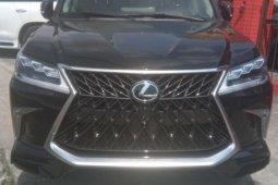 Foreign Used Lexus LX 2017 Model Black