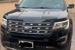 Nigeria Used Ford Explorer f2016 Model Black