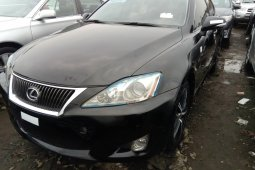 Foreign Used Lexus IS 2010 Model Black