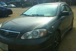 Very Clean Nigerian used 2005 Toyota Corolla
