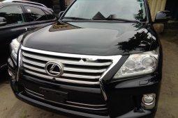 Foreign Used Lexus LX 2014 Model Black