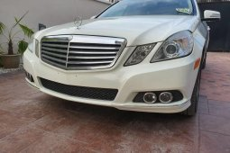 Foreign Used Mercedes-Benz E350 2011 Model White