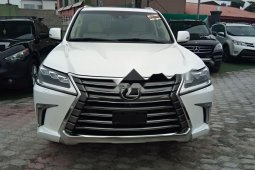 Foreign Used Lexus LX 2018 Model White