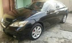 Nigeria Used Lexus ES 2008 Model Black