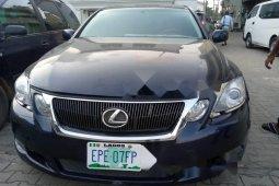 Nigeria Used Lexus GS 2008 Model Blue