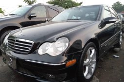 Foreign Used Mercedes-Benz C230 2007 Model Black