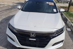 Foreign Used Honda Accord 2018 Model White