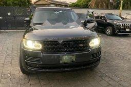 Nigeria Used Land Rover Range Rover Vogue 2014 Model Black