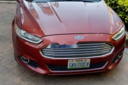 Nigeria Used Ford Fusion 2013 Model Red