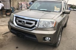 Foreign Used Honda Pilot 2010 Model Gold
