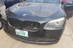 Nigeria Used BMW 7 Series 2011 Model Black