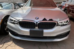 Foreign Used BMW 530i 2017 Model Silver