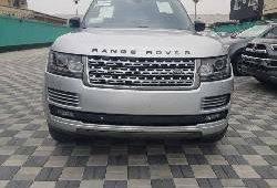 Nigeria Used Land Rover Range Rover Vogue 2013 Model Silver