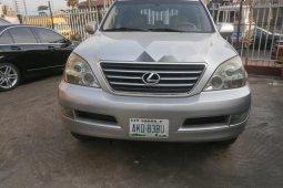 Nigeria Used Lexus GX 2005 Model Silver