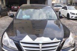 Nigeria Used Hyundai Genesis 2013 Model Black