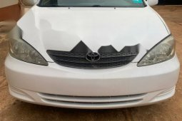 Foreign Used Toyota Camry 2004 Model White