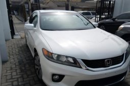 Foreign Used Honda Accord 2013 Model White