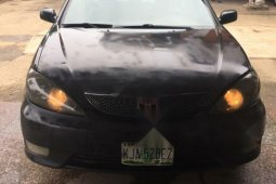 Foreign Used Toyota Camry 20006 Model Black