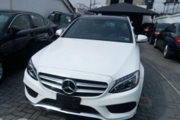 Foreign Used Mercedes-Benz C300 2016 Model White