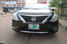 Nigeria Used Nissan Almera 2016 Model Black