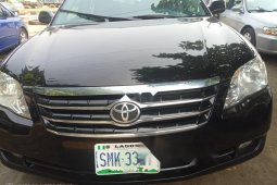 Nigeria Used Toyota Avalon 2008 Model Black
