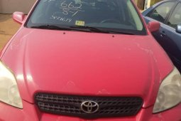 Clean Foreign used 2005 Toyota Matrix