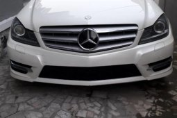 Tokunbo Mercedes-Benz C300 2013 Model White