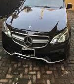 Nigeria Used Mercedes-Benz E350 2013 Model Black