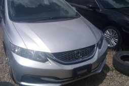 Foreign Used Honda Civic 2015 Model Silver