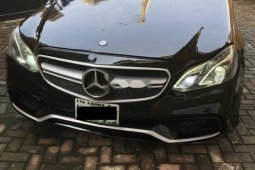 Nigeria Used Mercedes-Benz E350 2014 Model Black