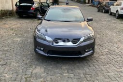 Foreign Used Honda Accord 2014 Model Gray