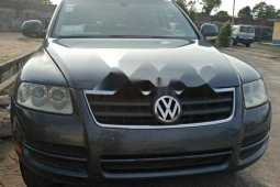 Nigeria Used Volkswagen Touareg 2006 Model Gray