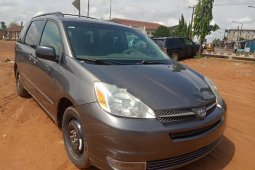 Nigeria Used Toyota Sienna 2005 Model Gray