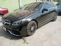 Nigeria Used Mercedes-Benz E350 2010 Model Black