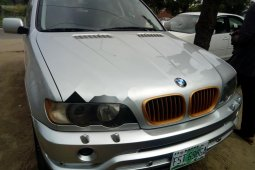 Nigeria Used BMW X5 2007 Model Silver