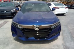 Foreign Used Honda Accord 2019 Model Blue
