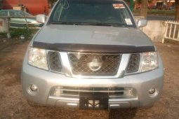 Foreign Used Nissan Pathfinder 2009 Model Silver