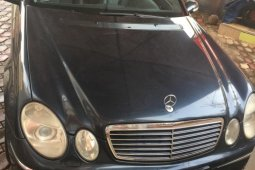 Nigeria Used Mercedes-Benz E350 2006 Model Blue