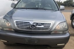 Nigeria Used Lexus RX 2002 Model Gray