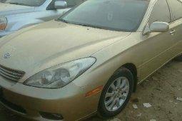 Nigeria Used Lexus ES 2005 Model Gold