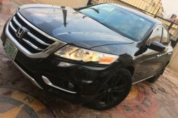 Nigeria Used Honda Accord CrossTour 2013 Model Black