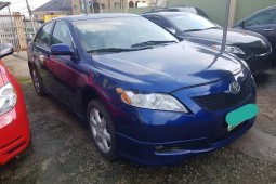 Nigeria Used Toyota Camry 2009 Model Blue