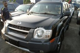Foreign Used Nissan Xterra 1004 Model Black