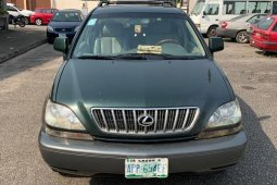 Nigeria Used Lexus RX 2002 Model Green